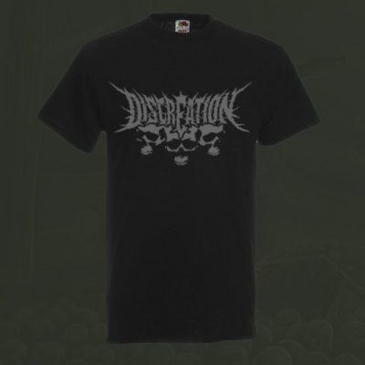 T-Shirt grau grau