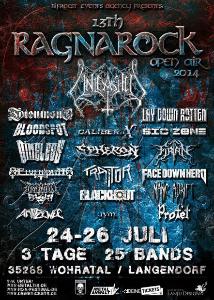 Flyer Ragnarock Open Air