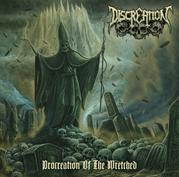 Discreation Procreation Of The Wretched Cover