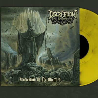 Procreation Of The Wretched LP yellow